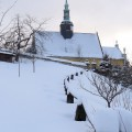 Engelkirche im Winter